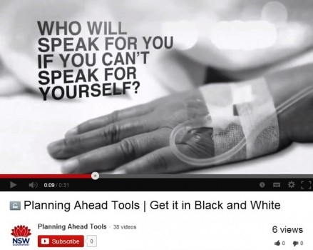 """The """"Get it in Black and White"""" campaign launched today."""