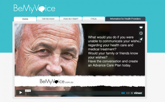 The ACT's advance care planning campaign