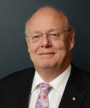 Dr Graeme Blackman, LASA chair